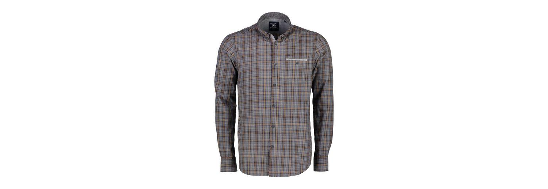 LERROS Langarmhemd mit Melangecheck Günstig Kaufen Großen Verkauf uZcnl3nCRt