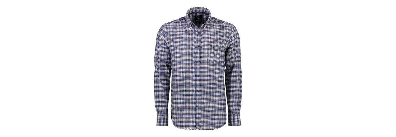 LERROS Langarmhemd in Twill-Karo Steckdose Vorbestellung 2018 Neuer Online-Verkauf R0haq