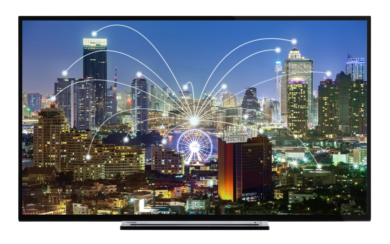 Toshiba LED-Fernseher (55 Zoll, Full HD, Smart TV, Triple-Tuner) »55L3763DA«