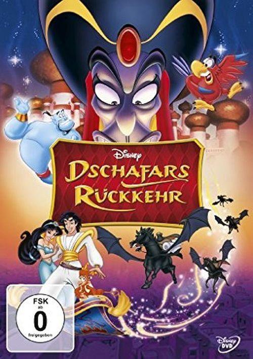 Disney DVD - Film »Aladdin - Dschafars Rückkehr (ohne SC Branding)«