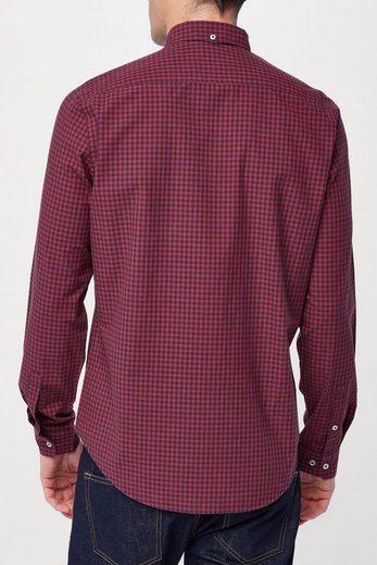 Next Langärmeliges Hemd mit Vichykaro