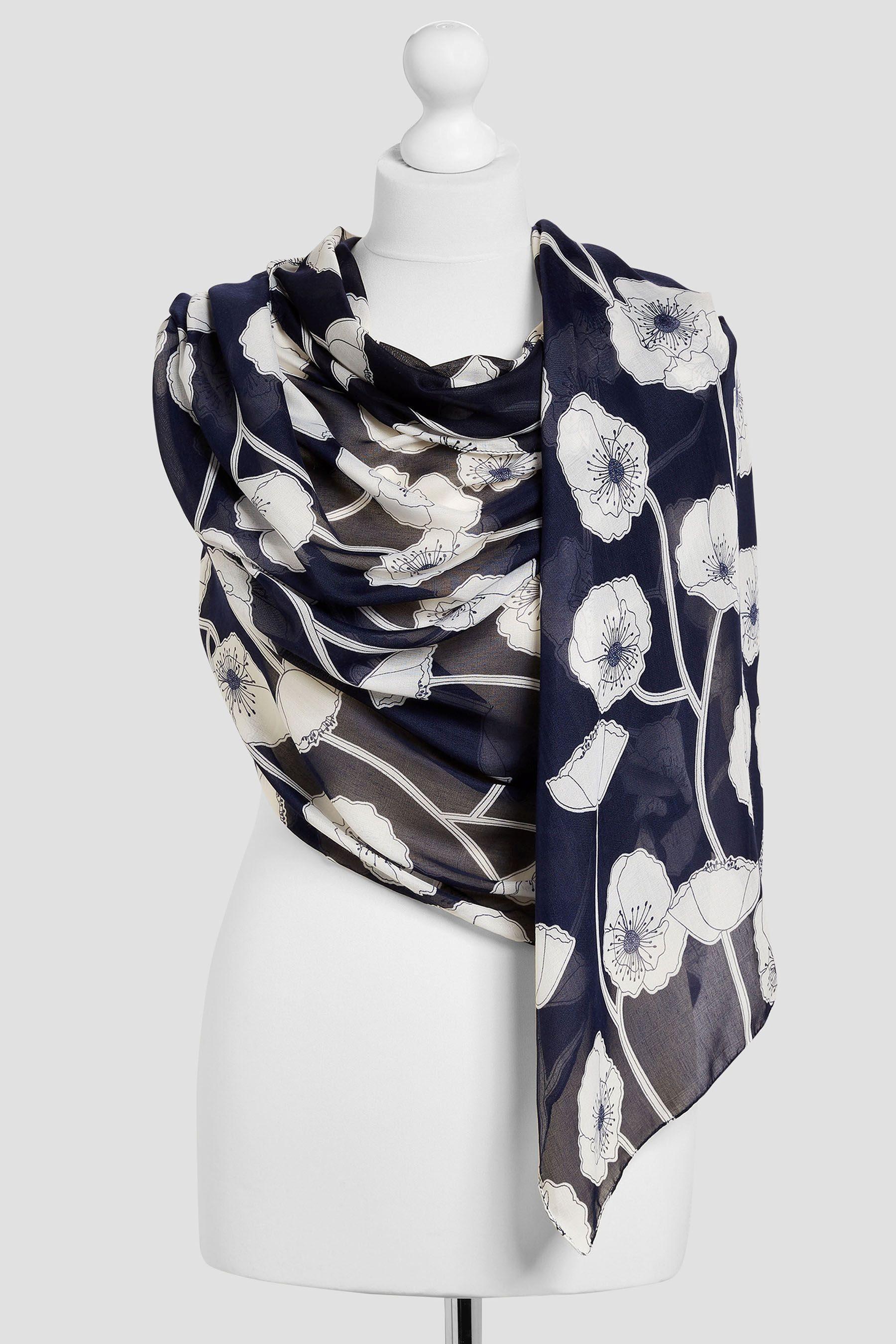 Next Schal mit Blumendruck
