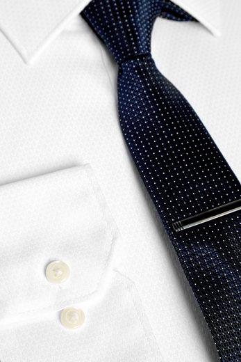 Next Hemd mit Krawatte und Krawattennadel im Set, marineblau 3 teilig