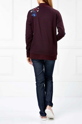 Next Pullover mit Blumenstickerei