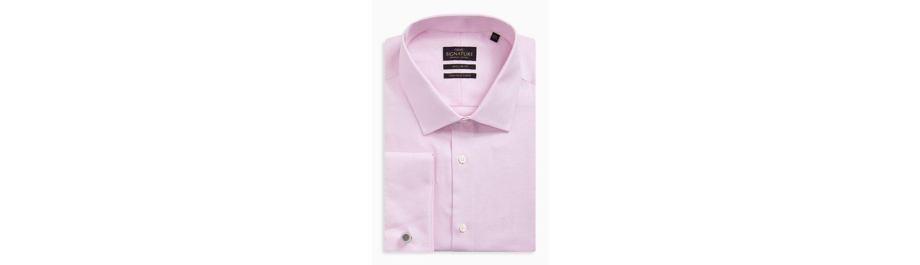 Next Regular-Fit Premium-Hemden mit Manschettenknöpfen Billig Verkauf Wahl c1oVqs4L