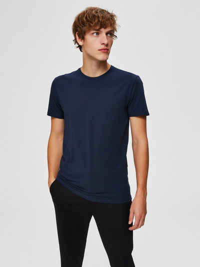 SELECTED HOMME T-Shirt »NEW PIMA O-NECK TEE«