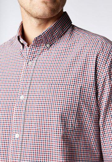 Next Langarmhemd mit Vichykaros