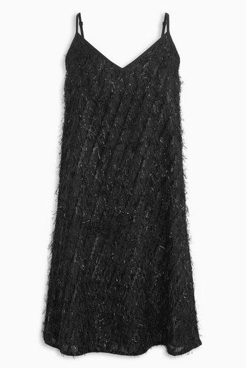 Next Kleid mit Fransen