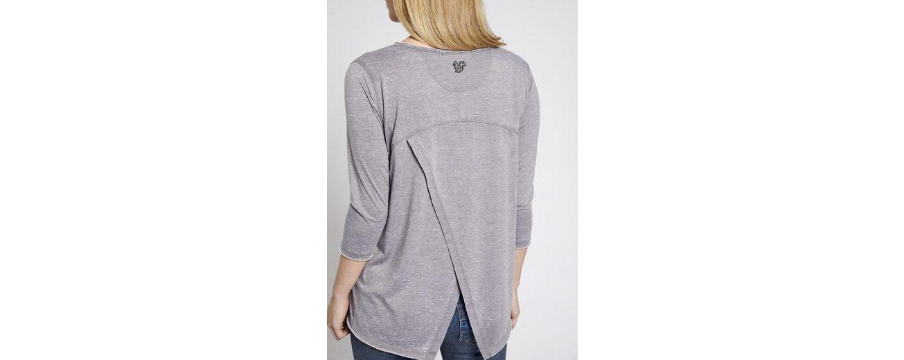khujo Oversize-Shirt SOLVEIG, mit Wickel-Optik im Rücken