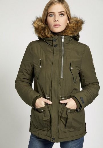 Khujo Winterjacke Fatima, With Removable Faux Fur On The Hood