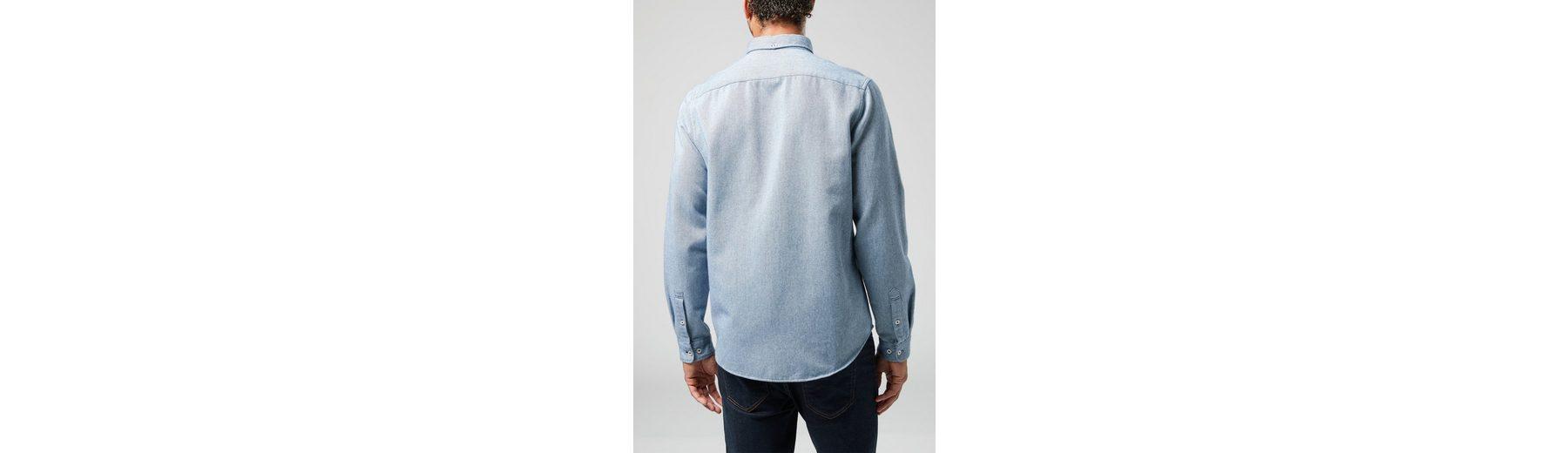 Next Langärmeliges Twill-Hemd Neue Ankunft Zum Verkauf 7N6TR8Wp