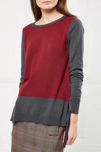 Next Pullover mit seitlichem Bindedetail