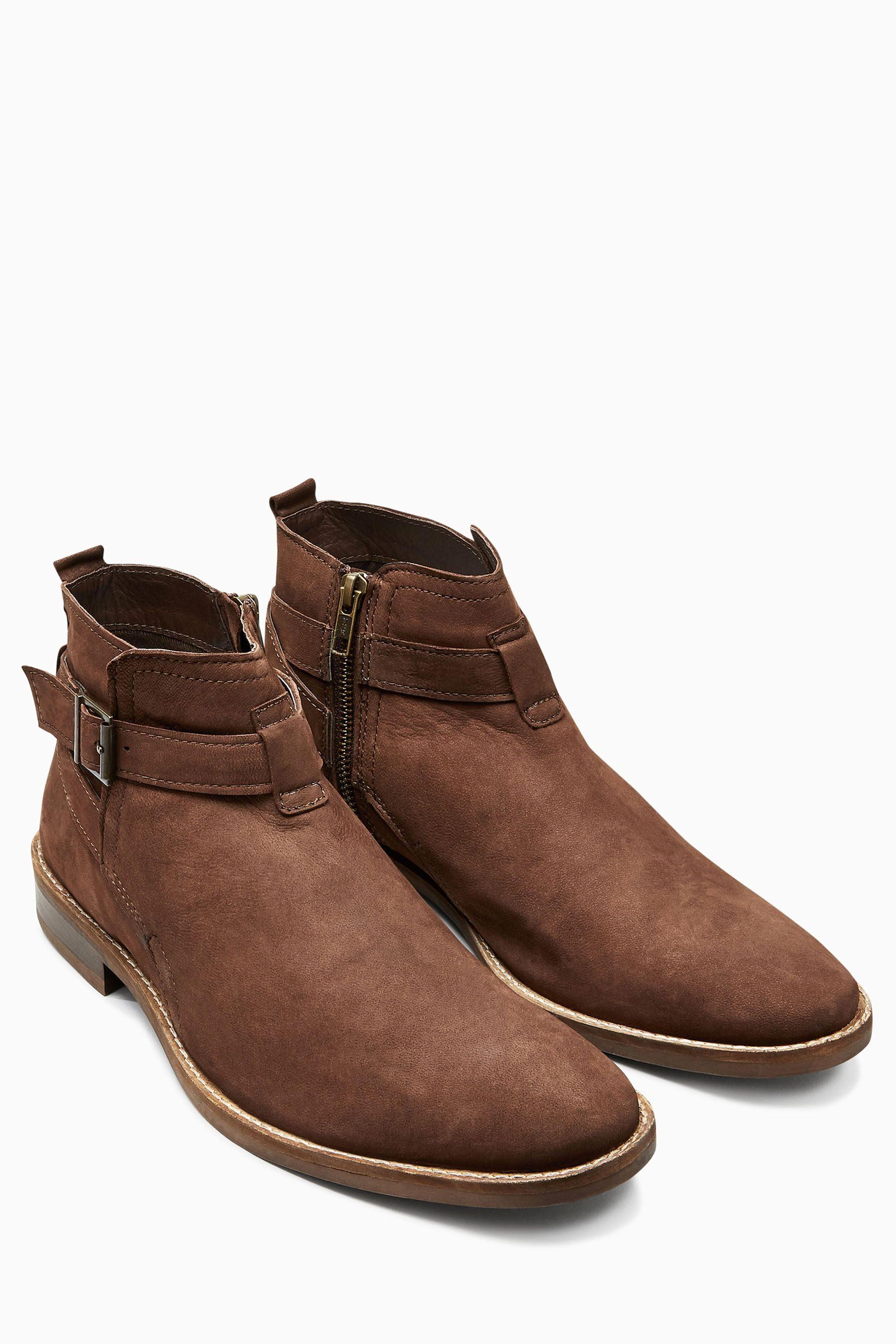 Next Stiefel mit Schnalle online kaufen  Brown