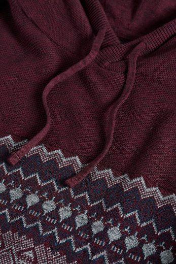 Next Hoodie With Norwegian Pattern