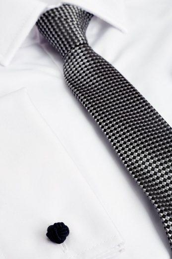 Next Hemd mit Aufschlamanschette, Krawatte und Einstecktuch 3 teilig
