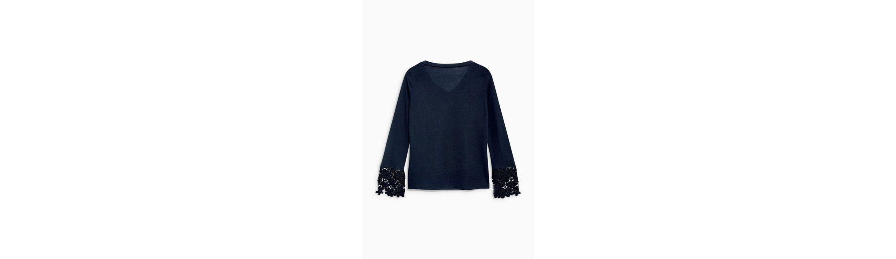 Rabatt-Outlet-Store Next Shirt mit Ärmelsaum aus Spitze Versorgung Günstiger Preis Rabatt-Angebote HystMo5