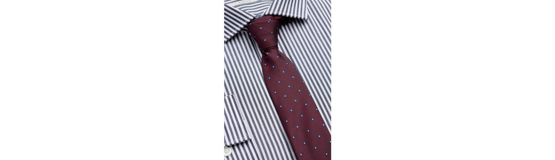 Next Slim-Fit-Hemden mit Bengal-Streifen im 2er-Pack mit Krawatte 3 teilig Die Besten Preise Günstiger Preis MKEcJVZ