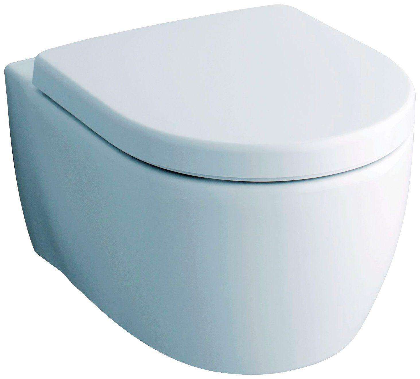 KERAMAG Wand WC »iCon«, Spülrandlos, mit Kera-Tect®
