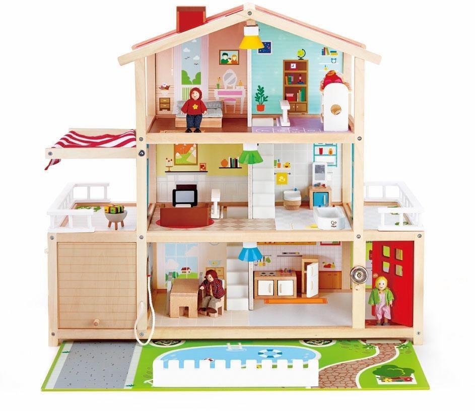 Hape Puppenhaus,  Puppen-Villa kaufen  online kaufen Puppen-Villa 2434ae