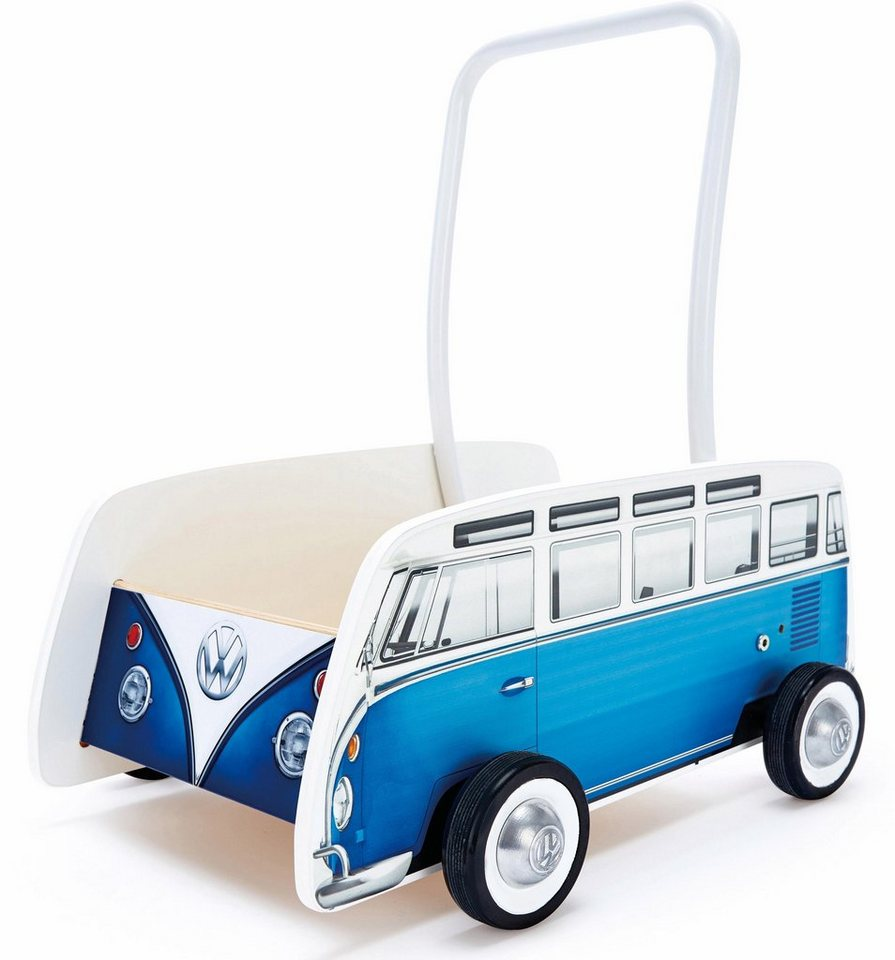 Hape online Lauflernwagen,  VW Bulli, blau  online Hape kaufen 2cfa43