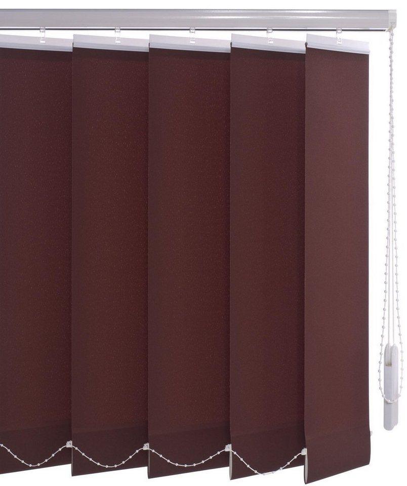 Lamellenvorhang Vertikalanlage 89 Mm Liedeco Mit Bohren Lichtschutz Online Kaufen Otto