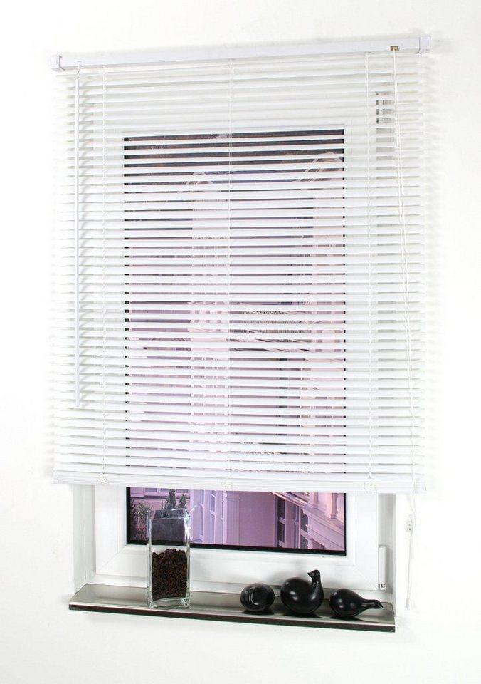 jalousie liedeco mit bohren freih ngend kunststoff. Black Bedroom Furniture Sets. Home Design Ideas