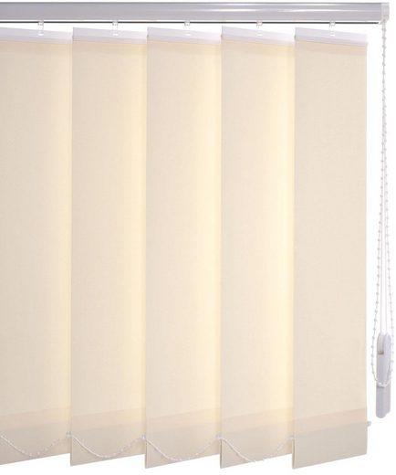 Lamellenvorhang »Vertikalanlage 127 mm«, Liedeco, mit Bohren