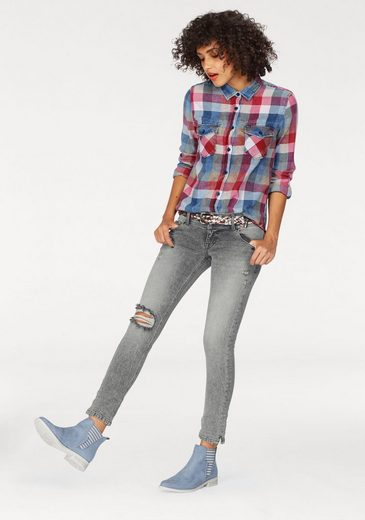 LTB Slim-fit-Jeans GEORGET, mit Destroyed-Effekten