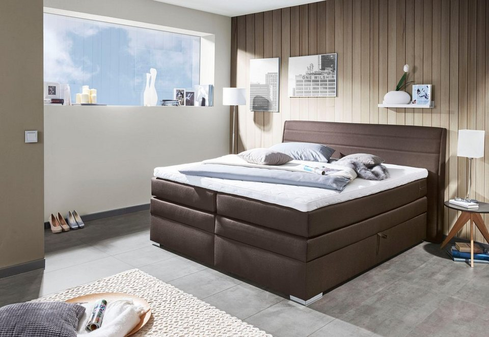 inosign boxspringbett bonnyville mit bettkasten otto. Black Bedroom Furniture Sets. Home Design Ideas