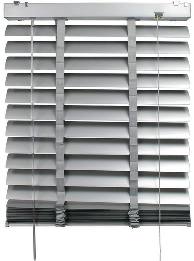 Jalousie »Aluminiumjalousie«, Liedeco, mit Bohren, mit 50 mm Lamellen