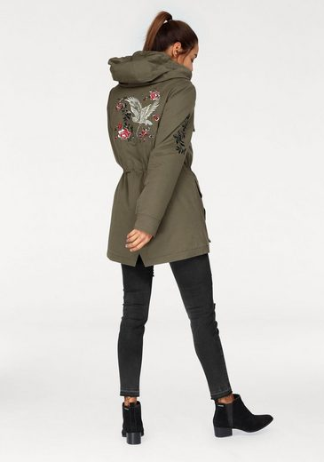 Ajc Parka, With Embroidery