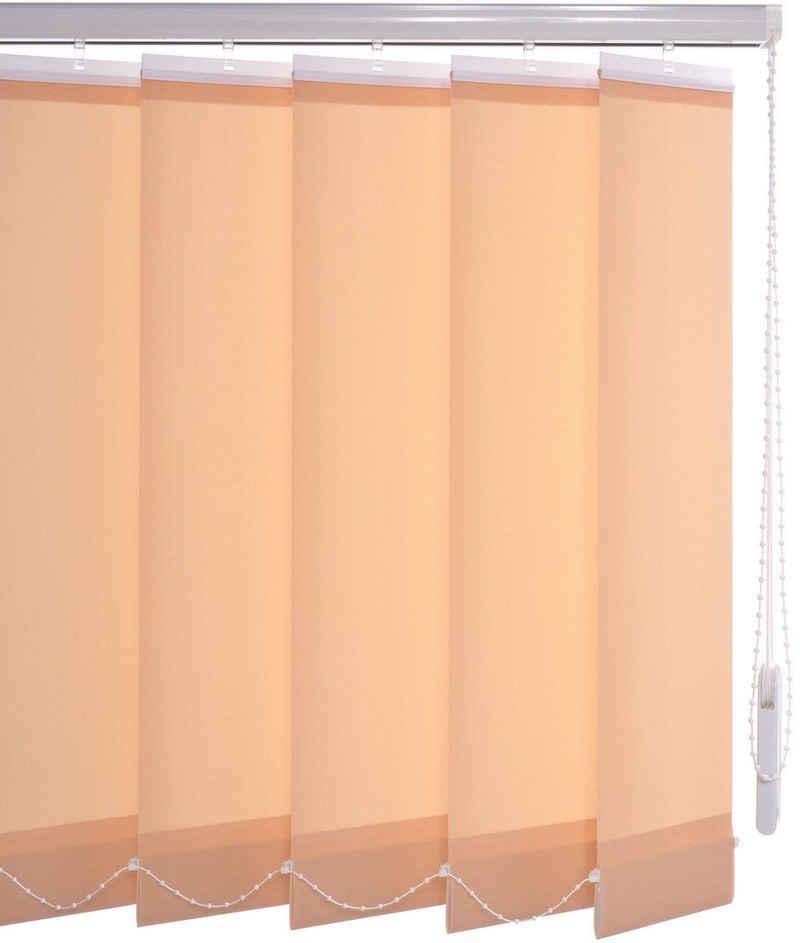 Lamellenvorhang »Vertikalanlage 89 mm«, Liedeco, mit Bohren