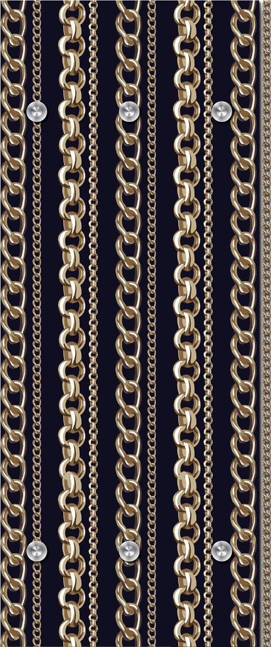 Garderobe »Ketten« 50/125 cm