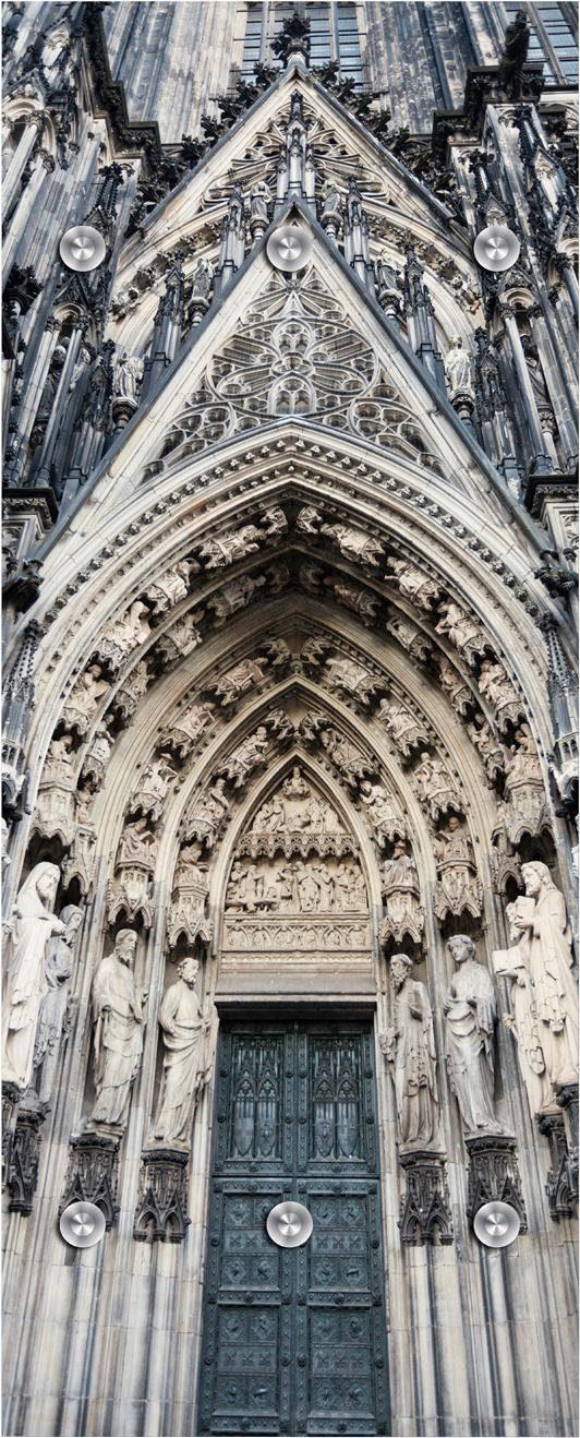 Garderobe »Kathedrale« 50/125 cm