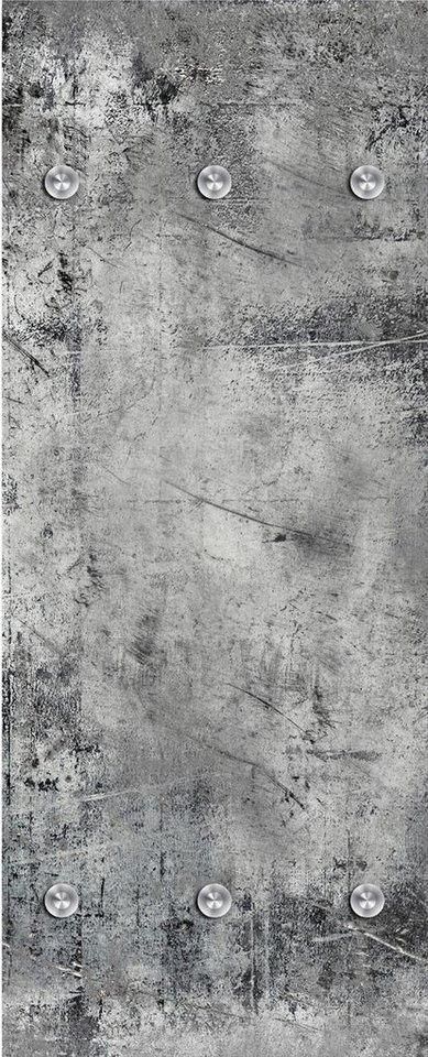 Garderobe betonoptik 50 125 cm online kaufen otto for Garderobe 125 cm