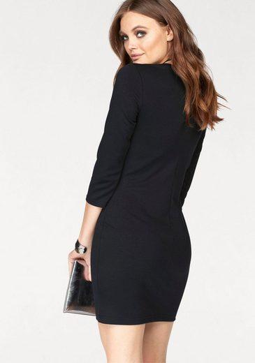 Melrose Jerseykleid, mit Zierschnürung