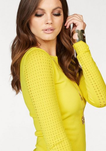 Melrose Crew-neck Sweater, With Hole Trick
