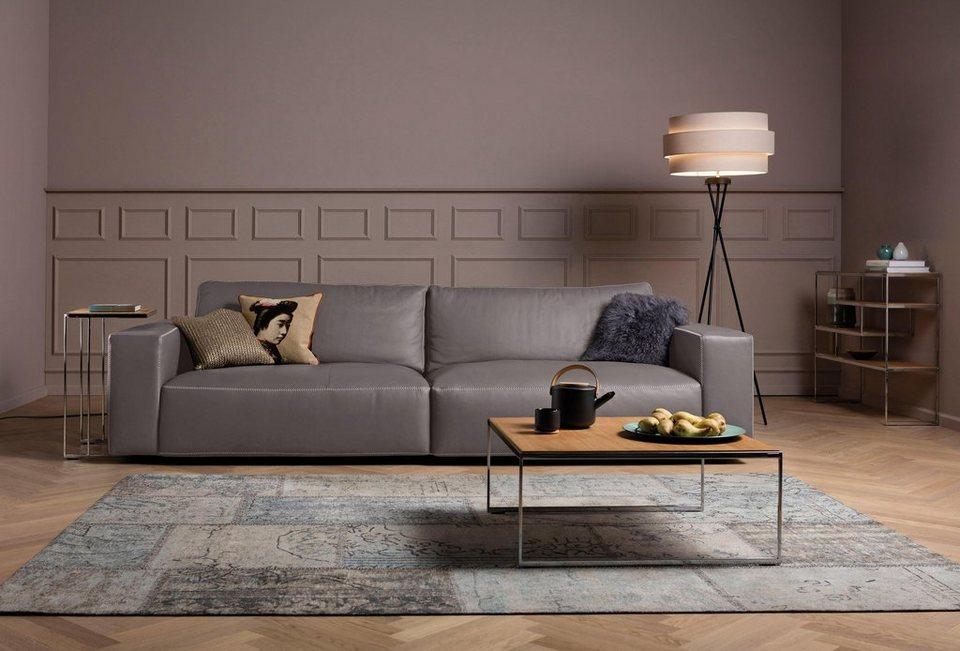 GALLERY M Big-Sofa 2,5-Sitzer »Lucia« in vielen Qualitäten und 4 ...