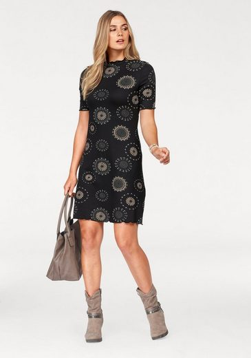 Boysen Jersey Dress In Slightly Flared Shape