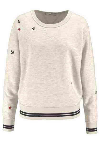 Scotch & Soda Sweatshirt, mit Ankern und Sterne bestickt