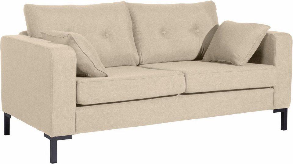 Max Winzer® 2-Sitzer Sofa »Timber« mit dekorativen Knöpfen ...