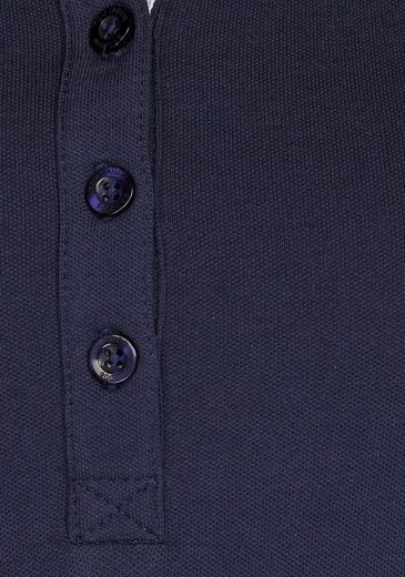 "Tom Tailor Polo Team Poloshirt, ohne Arm mit kleinem Logo-Print ""Je t`aime"""