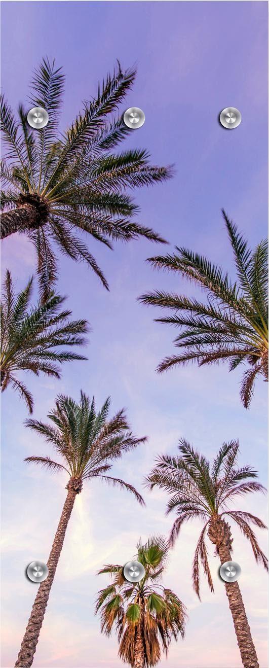Garderobe »Palmen und Himmel« 50/125 cm