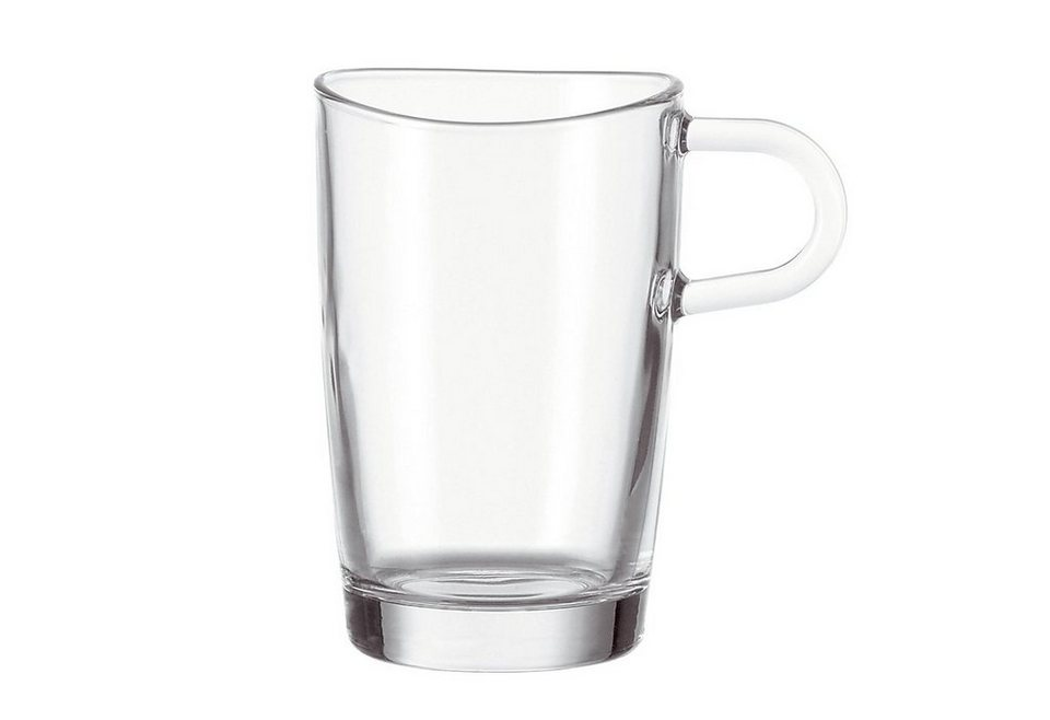 leonardo latte macchiato glas loop 6 st ck otto. Black Bedroom Furniture Sets. Home Design Ideas