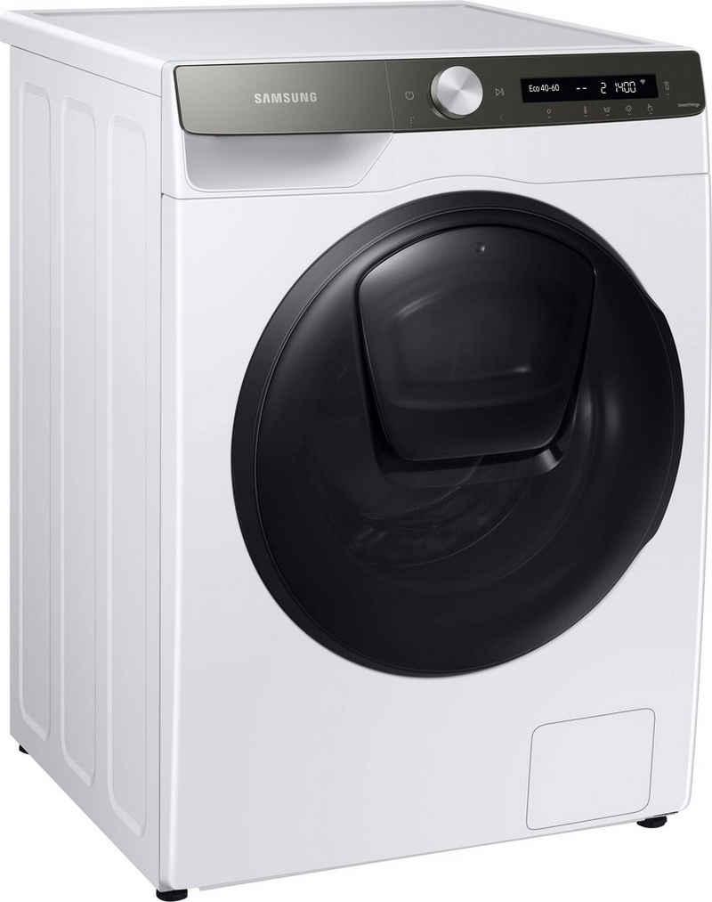 Samsung Waschtrockner WD80T554ABT, 8 kg, 5 kg, 1400 U/min, AddWash
