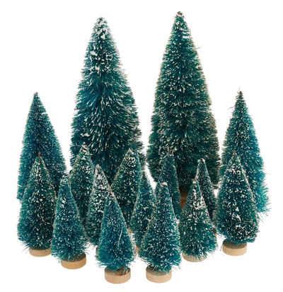 VBS Großhandelspackung Künstlicher Weihnachtsbaum, 16 Stück