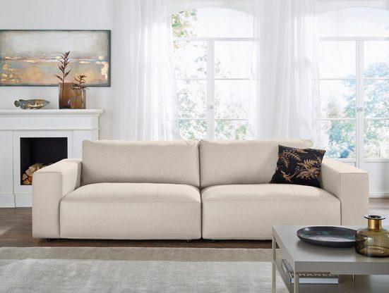 GALLERY M branded by Musterring Big-Sofa »Lucia«, in vielen Qualitäten und 4 unterschiedlichen Nähten, 3-Sitzer