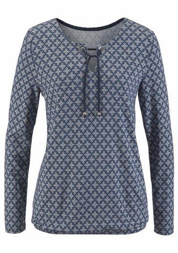 Boysen's Blusenshirt, mit Ösen