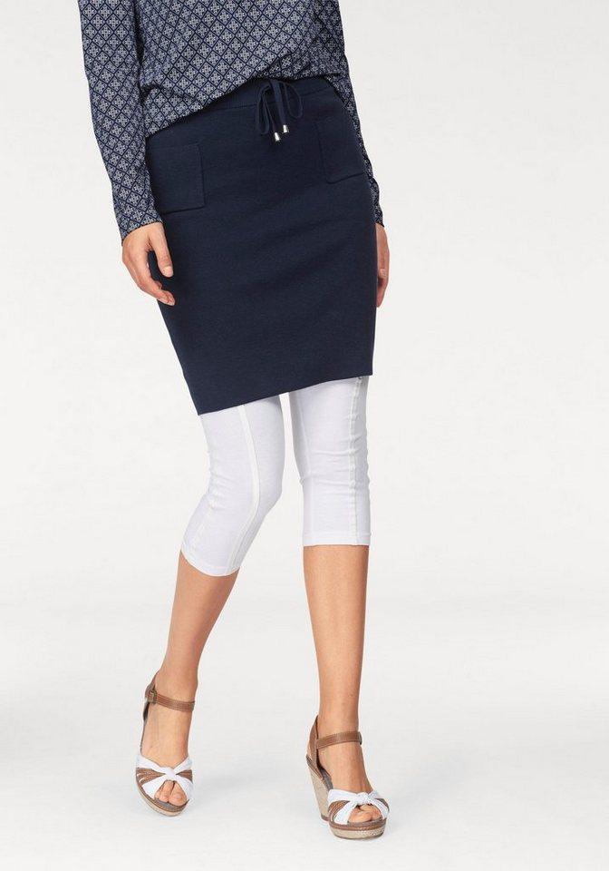 Boysen´s Strickrock in modisch kurzer Form | Bekleidung > Röcke > Strickröcke | Blau | Baumwolle | Boysen´s