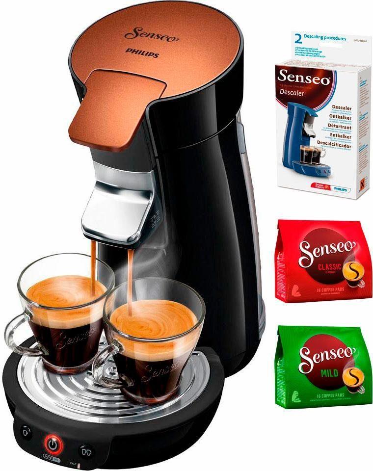 Senseo Kaffeepadmaschine HD7836/90 Viva Café Style, inkl Gratis-Zugaben im Wert von 14 €